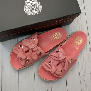 Vince Camuto | Jazzan suede slide sandals 7 NWT